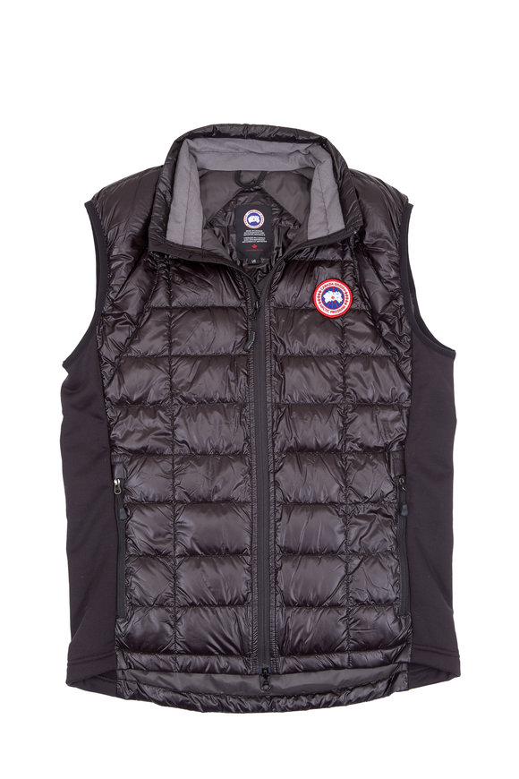 Canada Goose Black Hybridge Lite Vest