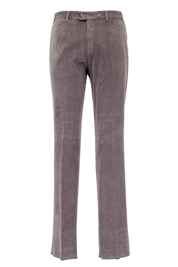 Hiltl Parma Gray Corduroy Pant