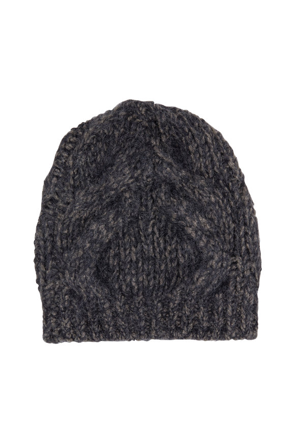 Brunello Cucinelli Military Wool & Mohair Beanie