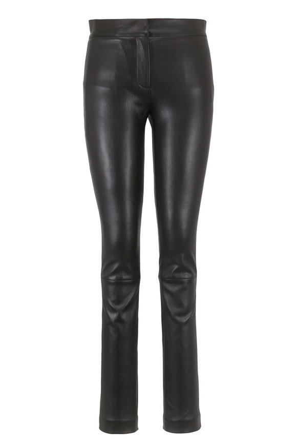 Derek Lam Hanne Black Leather Legging