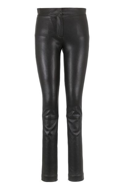 Derek Lam - Hanne Black Leather Legging