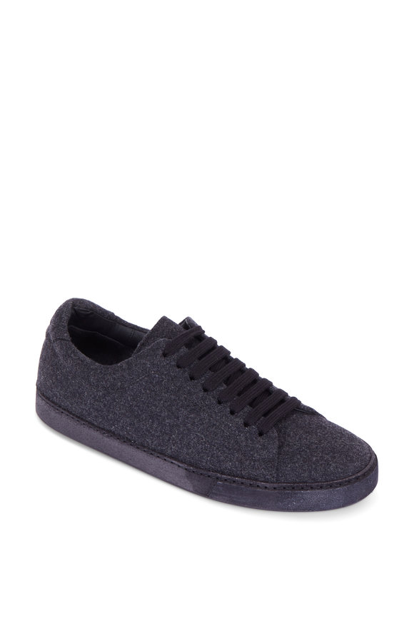 Vince Noble Graphite Wool Sneaker