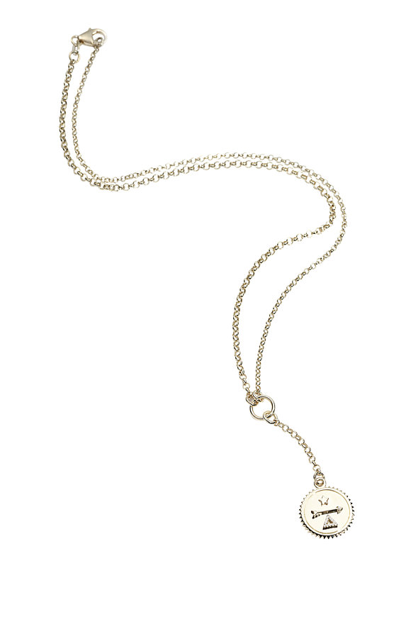 Foundrae 18K Yellow Gold Dream Pendant Necklace