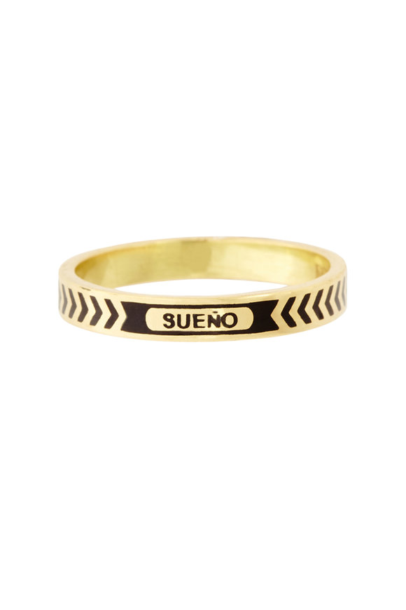 Foundrae 18K Yellow Gold Dream Band