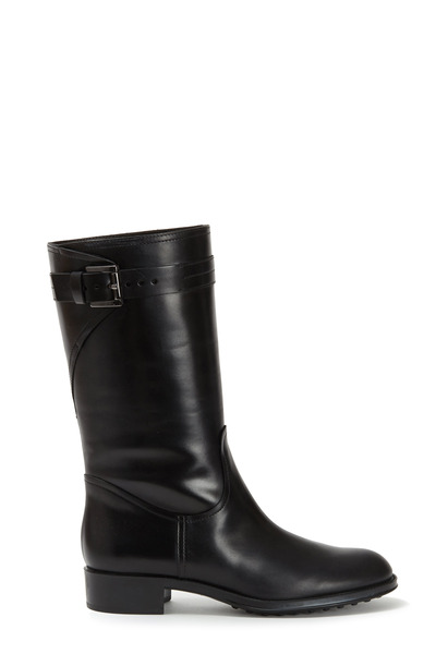 Tod's - Black Leather Moto Boot