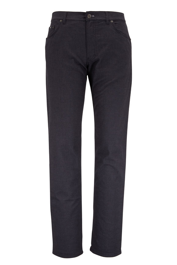 Brax Cooper Anthracite Five Pocket Pant