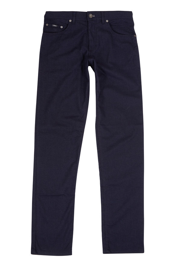 Brax Cooper Navy Blue Five Pocket Pant