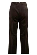 Incotex - Benson Dark Brown Stretch Wool Trousers