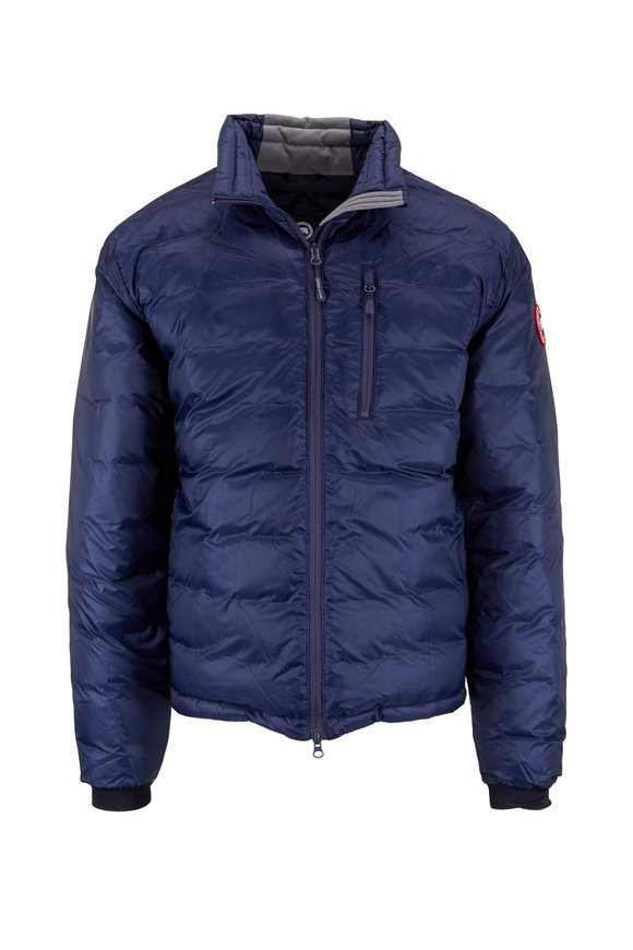 Canada Goose Lodge Admiral Blue Down Jacket