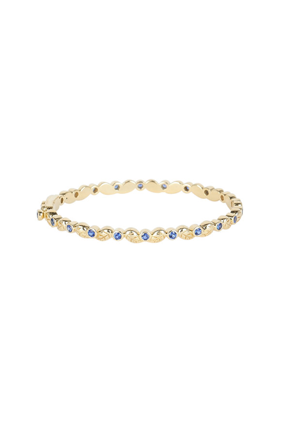 Temple St. Clair 18K Yellow Gold Sapphire Arcadia Bracelet