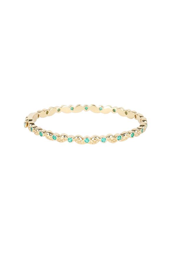 Temple St. Clair 18K Yellow Gold Emerald Arcadia Bracelet