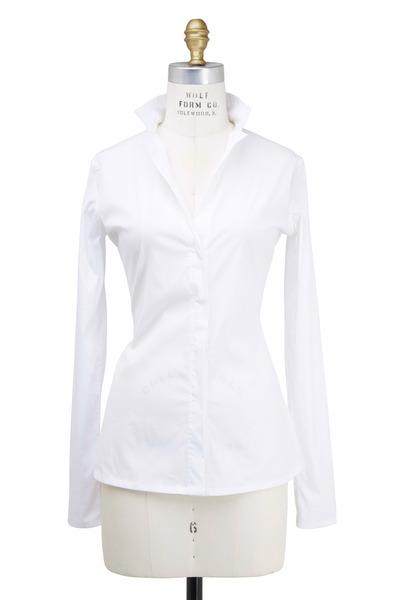 Lareida - Catharina White Cotton Blouse