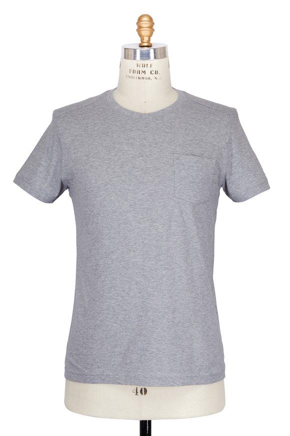 Belstaff Thom Gray Melange T-Shirt