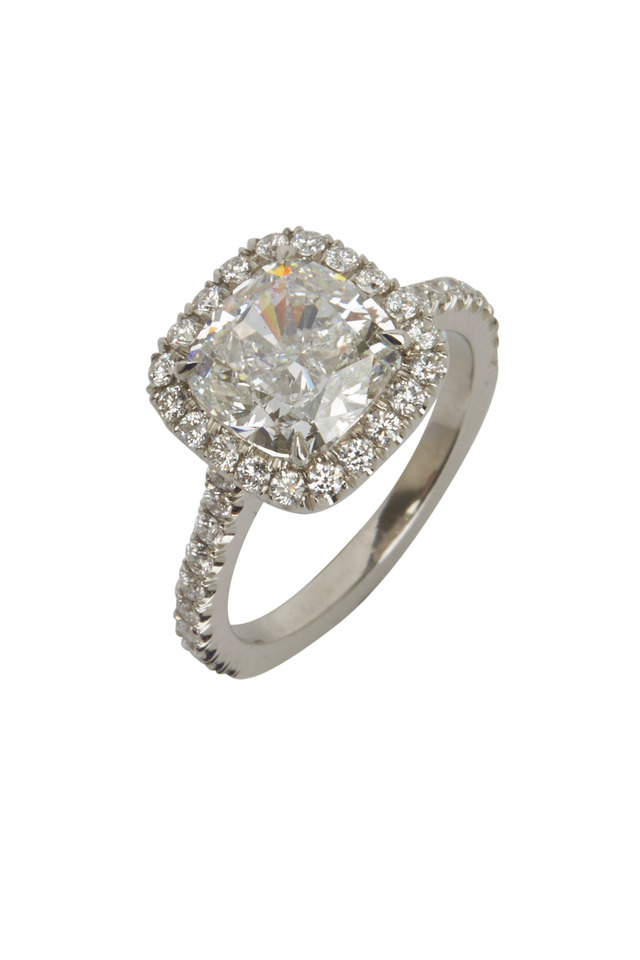White Gold Diamond Bridal Ring