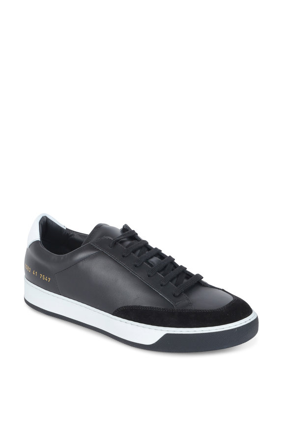 Common Projects Tennis Pro Black & White Sneaker