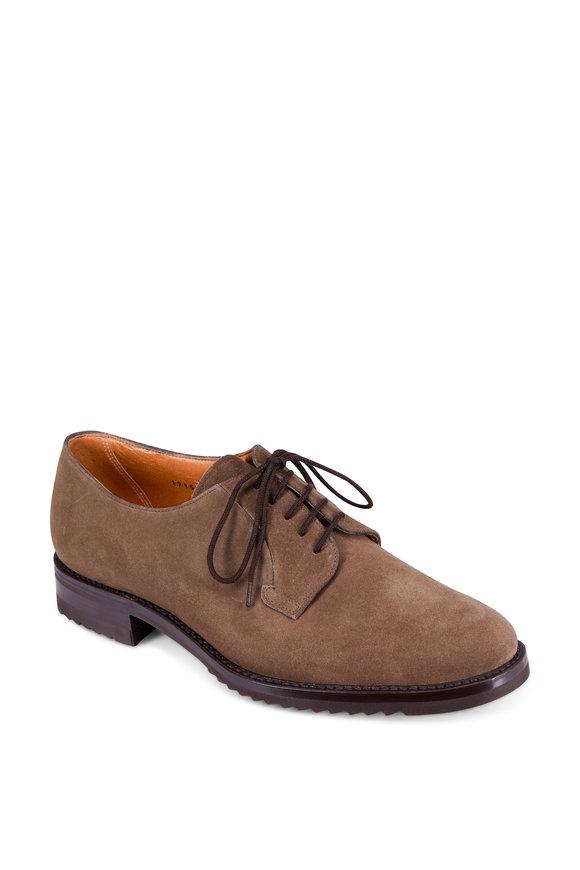 Gravati Flint Suede Rubber Sole Derby Shoe