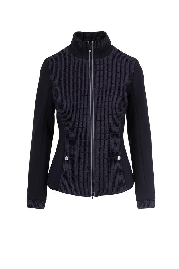 Bogner Monica Navy Blue Thin Puffer Jacket