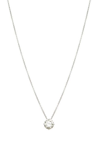 Louis Newman - White Diamond Pendant