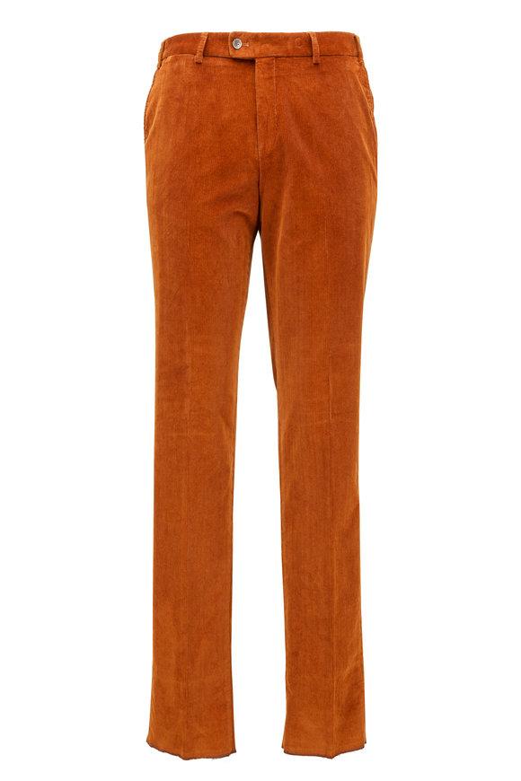 Hiltl Parma Rust Corduroy Pant