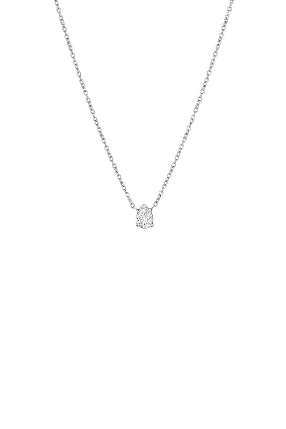 Penny Preville 18K White Gold Diamond Necklace