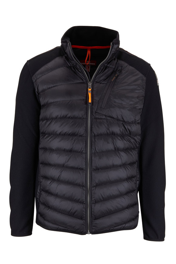 Parajumpers Jayden Black Mix Media Jacket