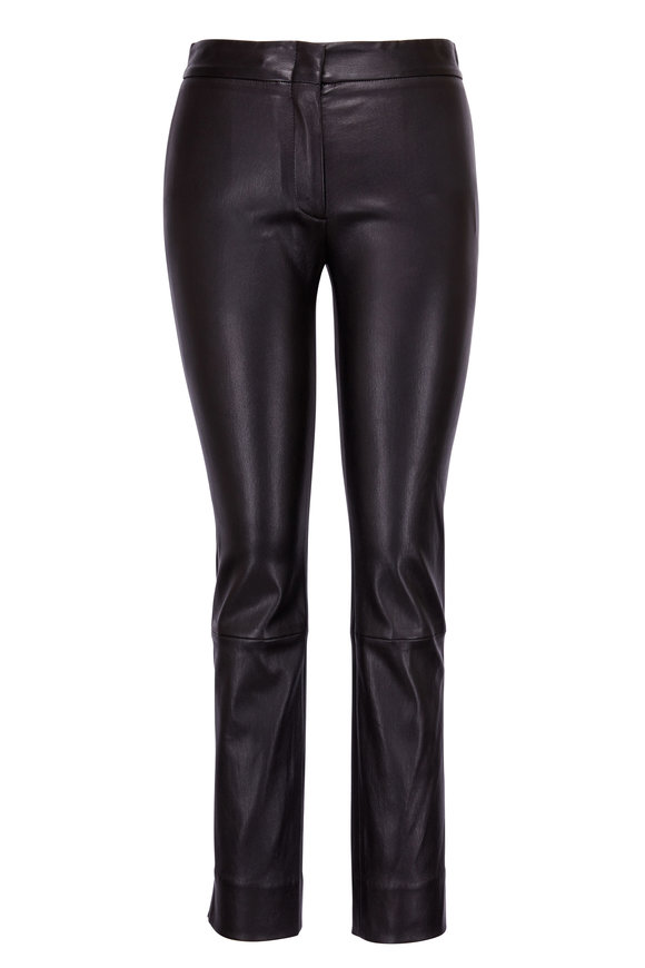 Derek Lam Drake Black Leather Pant