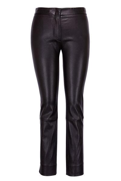 Derek Lam - Drake Black Leather Pant