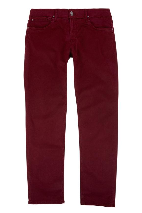 Hudson Clothing Blake Twill Slim Straight Jean