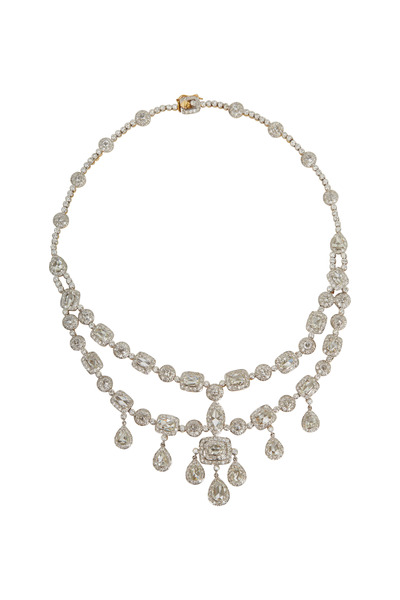 Sylva & Cie - Yellow Gold Diamond Necklace