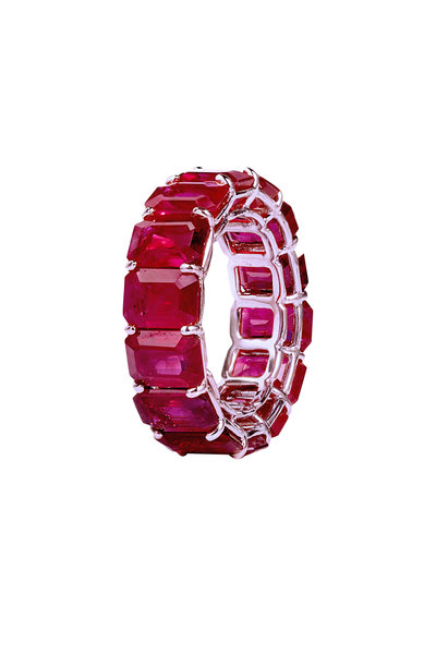 Bayco - Platinum Ruby Ring