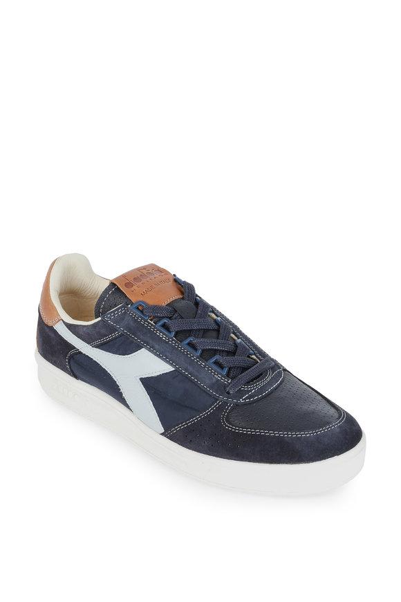 Diadora Heritage B.Elite Blue Suede Low Top Sneaker