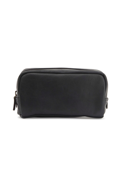 Moore & Giles - Tiare Black Leather Utility Case