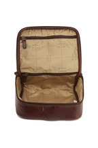 Moore & Giles - Titan Milled Brown Leather Utility Case