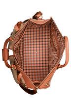 Ghurka - Express Khaki Twill Weekender Bag