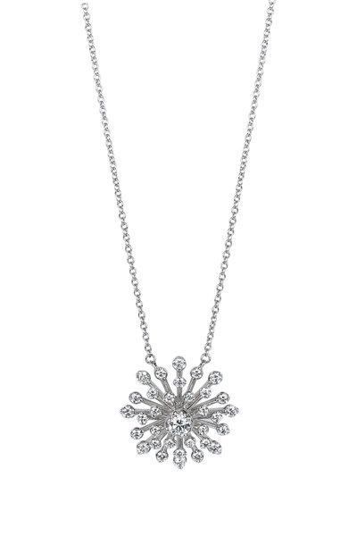 Kwiat - 18K White Gold Diamond Stella Pendant Necklace