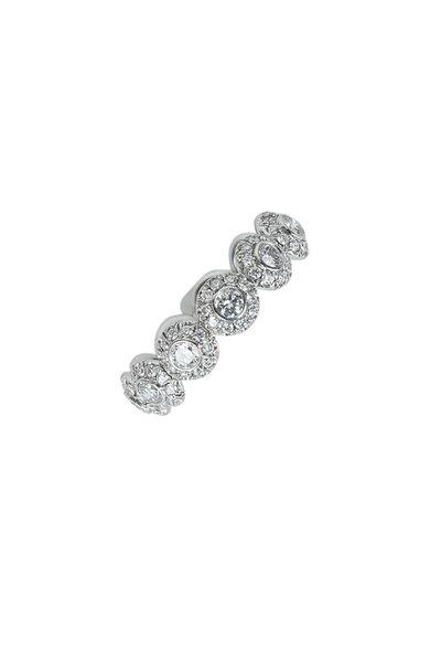 Kwiat - Platinum Diamond Silhouette Ring