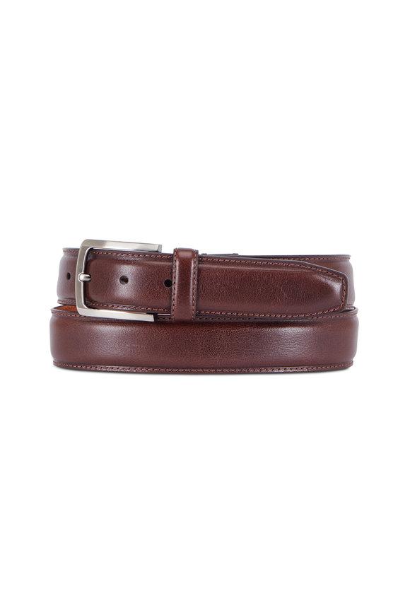 Trafalgar Corso Brown Leather Belt