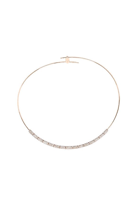Mattia Cielo 18K Yellow Gold Diamond Necklace