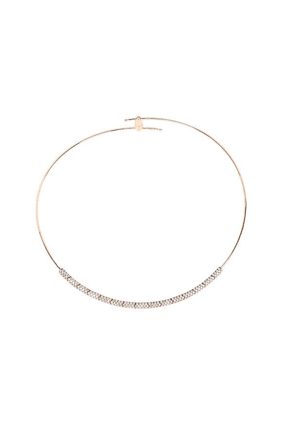 Mattia Cielo 18K Yellow Gold Diamond Necklace