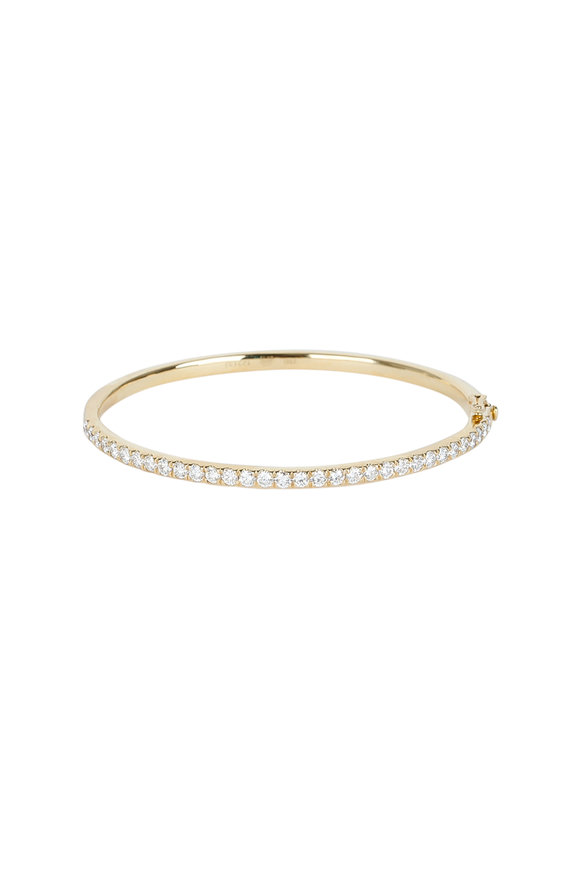 Kwiat 18K Yellow Gold Diamond Bangle