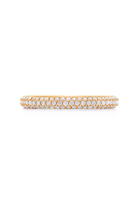 Kwiat 18K Yellow Gold Diamond Moonlight Ring