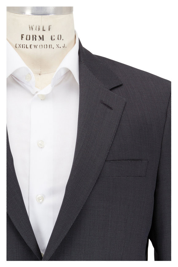 Coppley Gibson Charcoal Gray Wool Suit