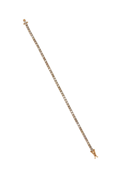 Kathleen Dughi - Yellow Gold Champagne Diamond Line Bracelet