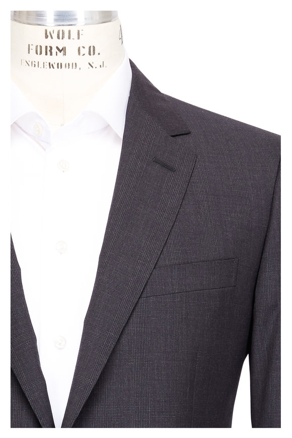 Lanvin Attitude Anthracite Wool Suit