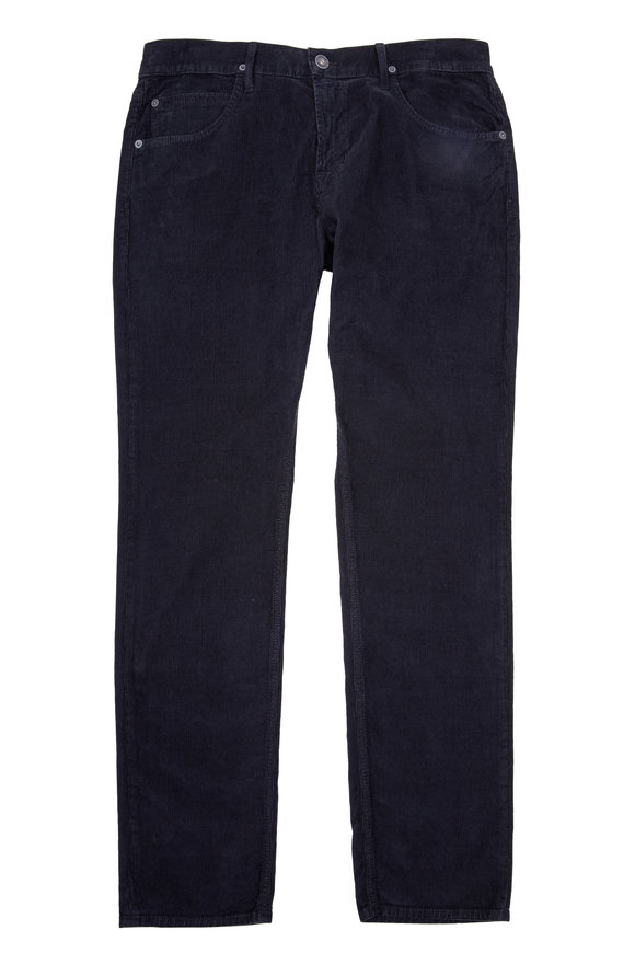 Hudson Clothing Blake Slim Straight Corduroy Pant