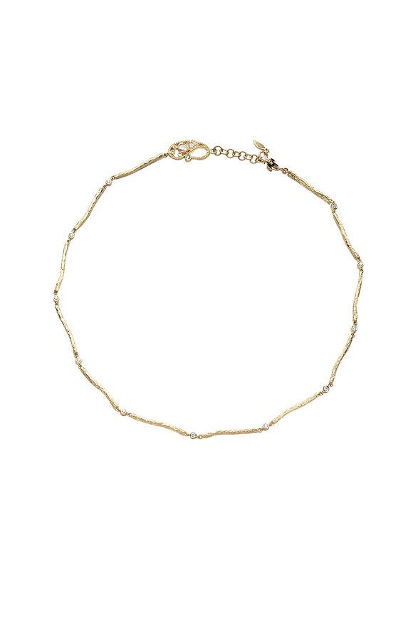 Coomi 20K Yellow Gold Serenity Chain