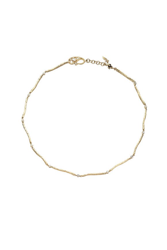 Coomi 20K Yellow Gold Serenity Chain