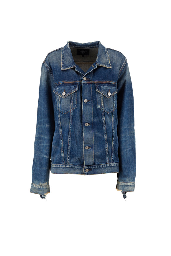 Citizens of Humanity Wilkes Distressed Denim Jacket