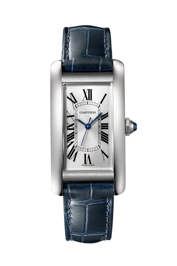 Cartier Blue & Steel Watch