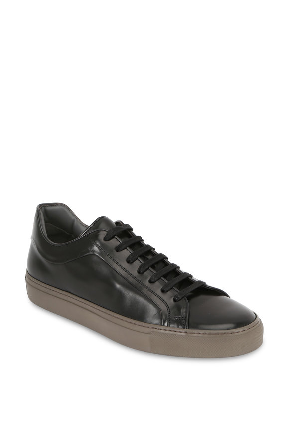 To Boot New York Marshall Black Leather Sneaker
